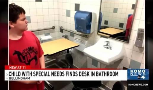 课桌被安排在厕所怎么回事:原因是什么详情始末及后续