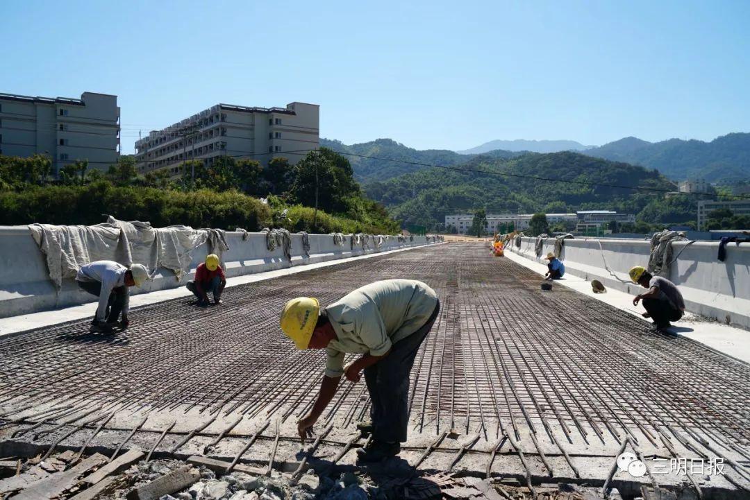 五比五晒 | 进出三明市区将更便捷!国道534线相关工程正在推进