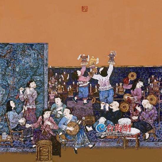 厦门翔安农民漆画首次入选全国美术作品展
