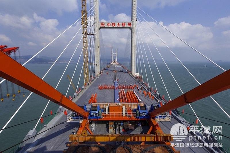 世界级工程!平潭海峡公铁两用大桥全线合龙