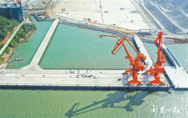 港通四海 服务上汽 漳湾作业区7号泊位项目顺利完工