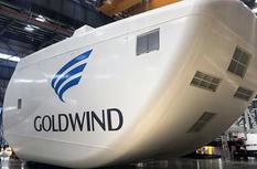 国内单机容量最大海上风电机组下线