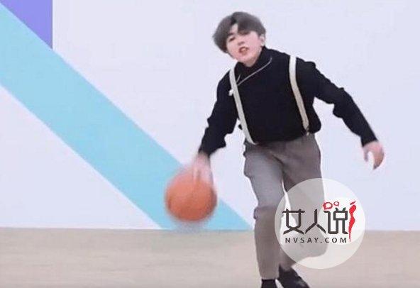 蔡徐坤打篮球游戏图片