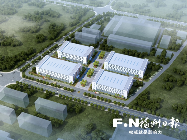 福州高新区高端装备先进制造业生产基地动建