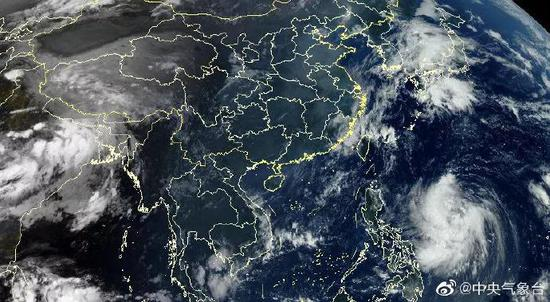 台风米娜最新消息,第18号台风米娜实时路径图登陆地点风力几级预测