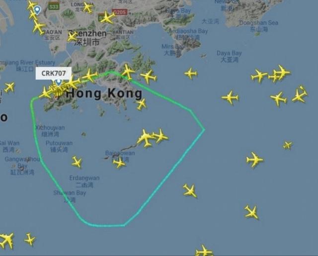 香港航空飞巴厘岛客机起飞半小时后紧急返航