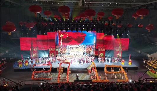 庆祝新中国▲成立70周年 闽港澳台联欢晚会举行
