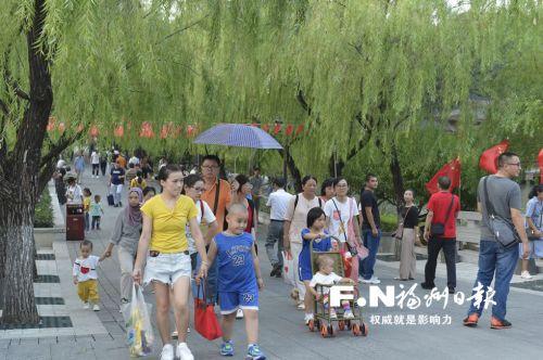 国庆长假前四天榕4处景区接待游客逾167万人次