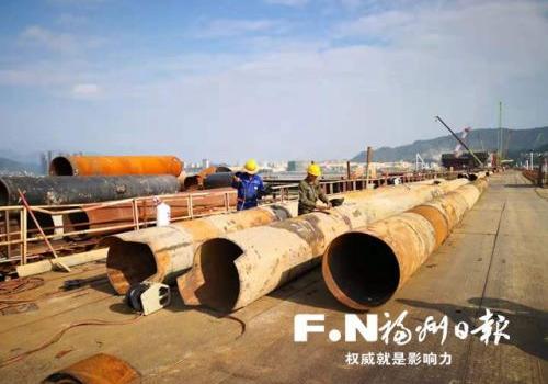 福州道庆洲大桥市政公路部分预计明年建成通车