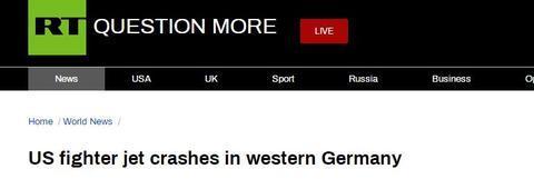 美国战机德国坠毁怎么回事 美国战机坠毁原因是什么