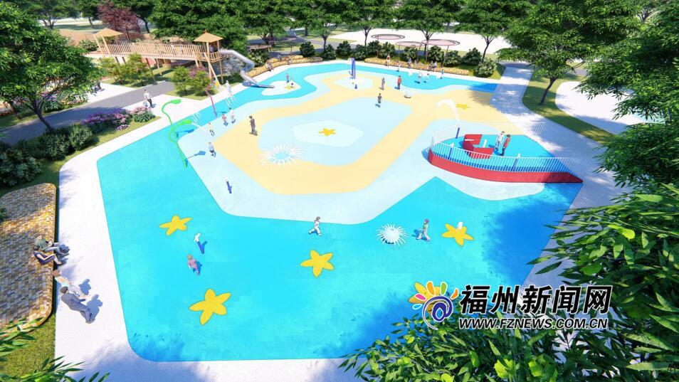 """福州儿童公园戏水园今起停止开放 明年夏天""""新妆""""再会"""