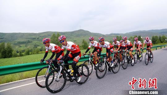 中国青海天佑德洲际车队斩获环伊朗国际公路自行车赛团体冠军
