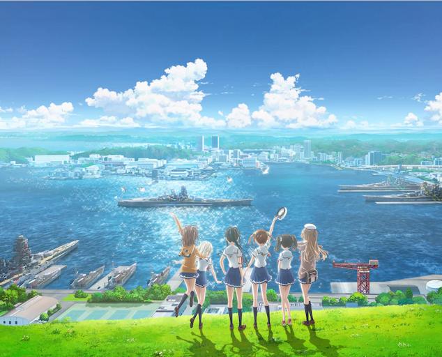 动画名作《高中舰队》新剧场版20年1.18日上映