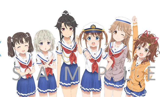 日本水世界!动画名作《高中舰队》新剧场版20年1.18日上映