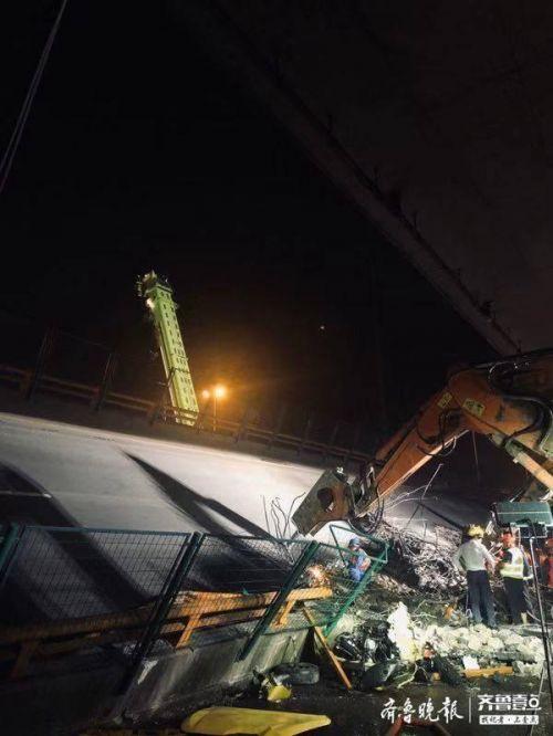无锡高架桥坍塌现场图片曝光,无锡高架桥坍塌全过程细节揭露令人毛骨悚然