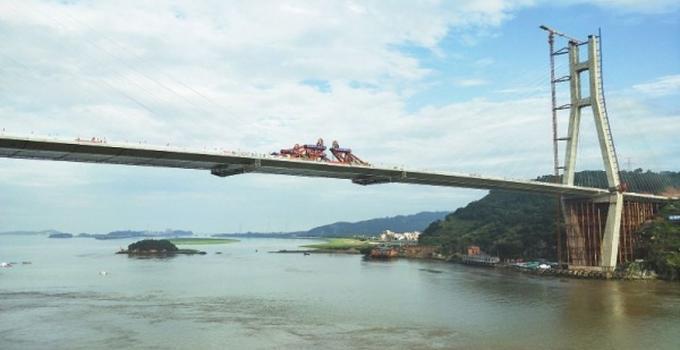 腾江巨龙连海平——写在福州长门特大桥通车之际
