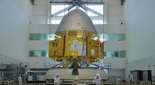 """中国火星探测器""""真容""""曝光 预计明年发射"""