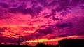 19号超强台风海贝思登录时间 日本多地出现粉紫色天空组图一览