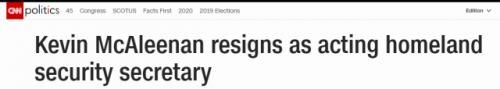 美国代理部长辞职怎么回事? 美国代理部长为什么辞职?