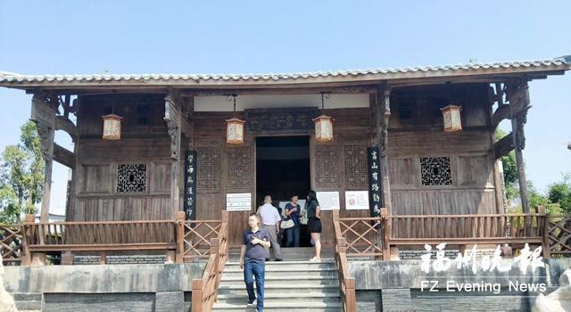 """翠涛书院安家长乐 两百多年历史古建筑整体""""搬迁"""""""