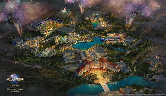 北京的环球影城在哪,环球影城有什么主题,北京环球度假区2021年开园