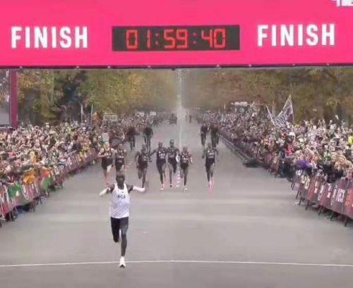 男子马拉松首次跑进2小时怎么回事?男子马拉松首次跑进2小时有何意义