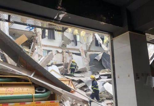 南京一公寓局部坍塌怎么回事?南京一公寓局部坍塌事件始末
