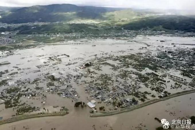 日本台风致33人死,东京发大雨最高级别警报