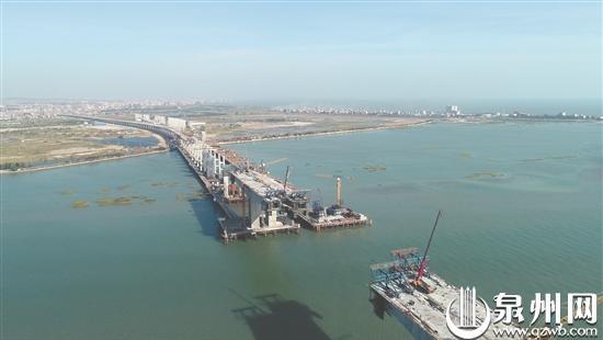 泉厦漳城市联盟路泉州段明年5月建成通车