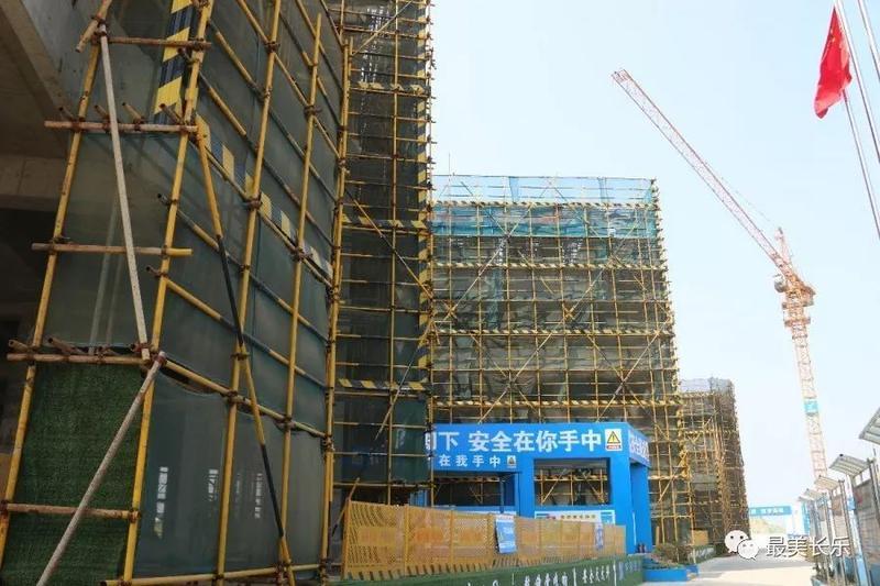 福州滨海新城又一家幼儿园即将封顶 计划2020年投入使用