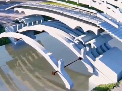 3D打印赵州桥图片曝光 3D打印更环保无污染