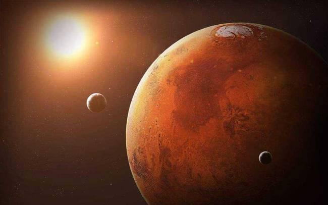 很早之前存在液态水 火星上有生命痕迹