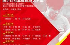 国足客战菲律宾名单一览 恒大两将韦世豪和杨立瑜落选