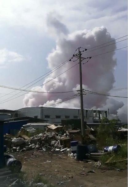 玉林化工厂爆炸现场图曝光4死6伤 玉林化工厂爆炸原因是什么?