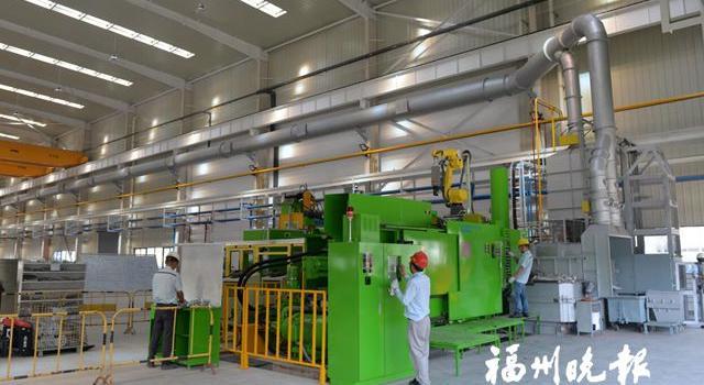 闽々侯六和汽车项目试生产 主份上要生产铝制品汽车零部件等