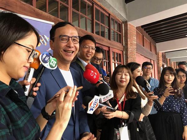朱立倫吁吳敦義擔任韓國瑜競選總部重要職務