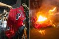 勒布朗言论引发焚烧球衣 被指责站在钱的一边