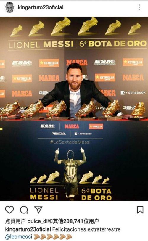 梅西6夺欧洲金靴什么情况 连续三年蝉联该奖项