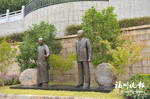 余則成原型吳石與何遂銅像下周落戶福州