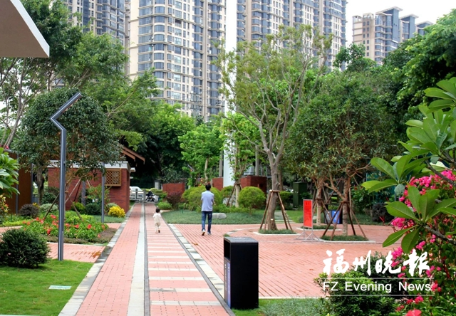 福清城區景觀公園竣工開放 設計充滿懷舊氣息