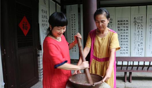 将乐擂茶:钵中有乾坤 钵中显真意