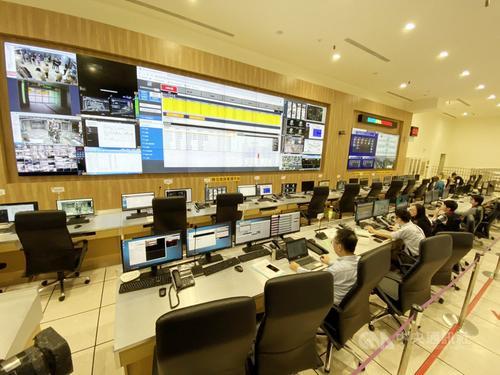 台北车站防灾中心揭牌 24小时保障50万人次安全