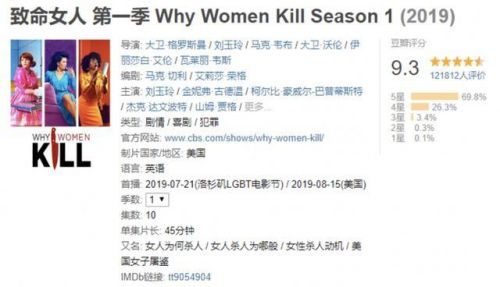 致命女人续订第二季是真的吗?致命女人第二季什么时候播出哪里可以看