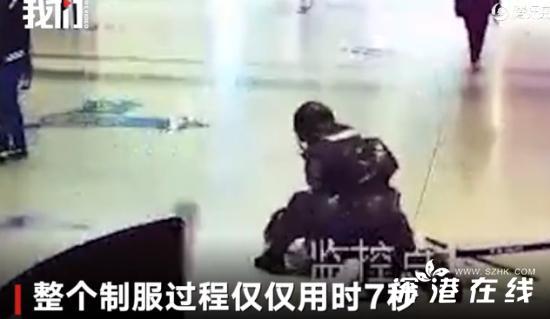 男子车站袭击武警怎么回事?男子在哪个车站袭击武警详细经过现场被抓照片