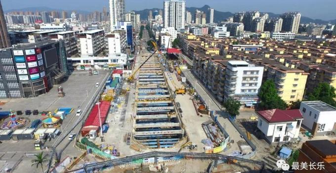 11月1日起,长乐郑和中路部分路段实行交通管制