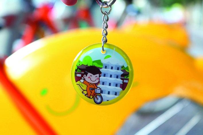 莆田市公共自行车推出全新高颜值异形卡