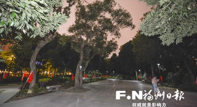福州金山公园将改造林下空间 为市民增加更多休闲空间