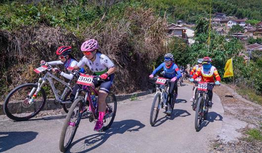 福建华安:美丽乡村骑行赛