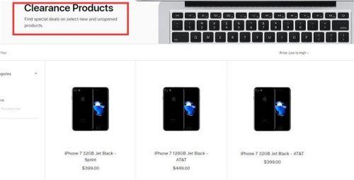 苹果将iphone7列为清仓产品怎么回事?iphone7为什么被列为清仓产品