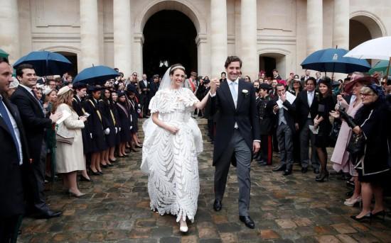 法国举办世纪婚礼怎么回事? 拿破仑后人迎娶奥地利女公爵
